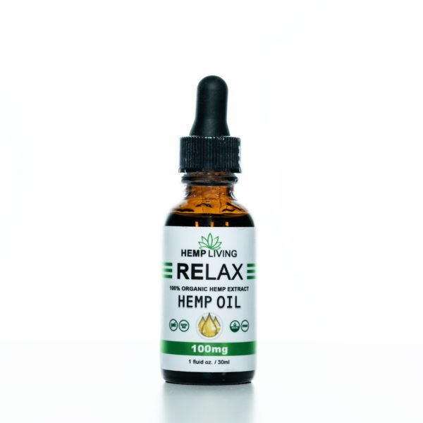 Hemp Living CBD-Relax - 100MG - 30ML
