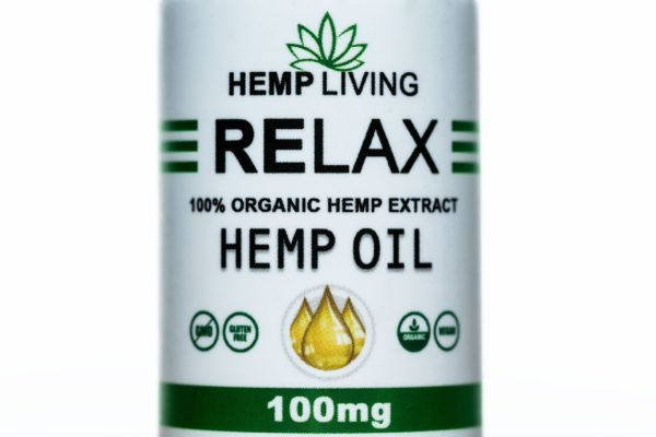 Hemp Living CBD-Relax - 100MG - 30ML