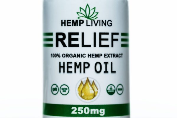Hemp Living CBD-Relief - 250MG - 30ML