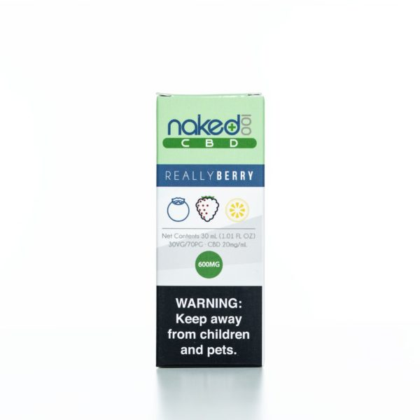 Naked 100 CBD Really Berry - 600MG - 30ML