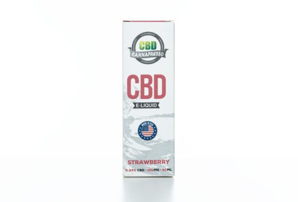 Cannapresso CBD Strawberry - 100MG - 30ML