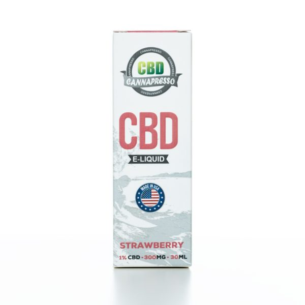 Cannapresso CBD Strawberry - 300MG - 30ML