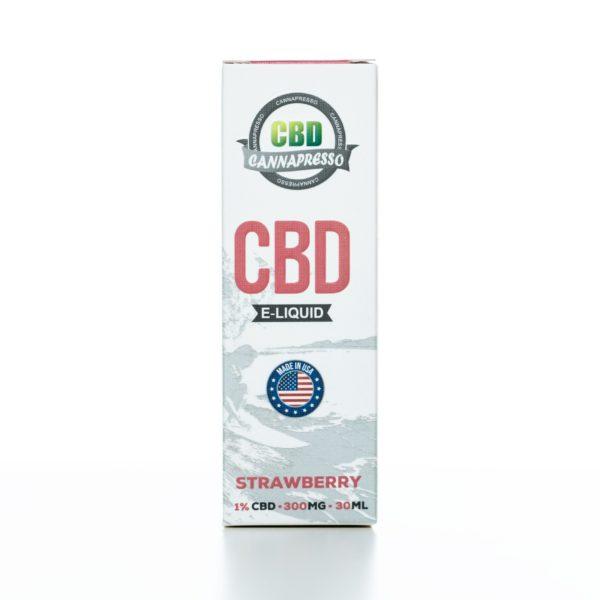 Cannapresso CBD Strawberry - 300MG - 30ML