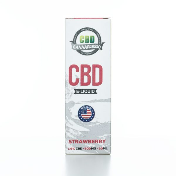 Cannapresso CBD Strawberry - 500MG - 30ML