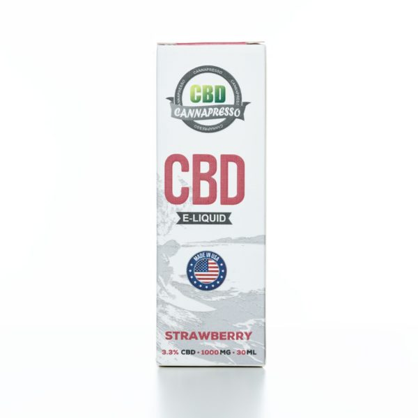 Cannapresso CBD Strawberry - 1000MG - 30ML