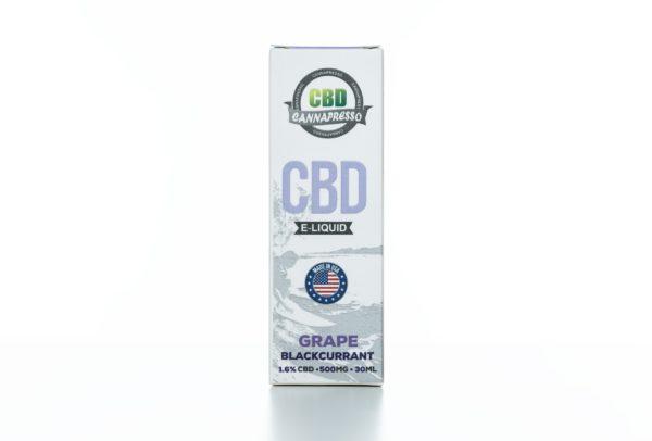Cannapresso CBD Grape Black Currant - 500MG - 30ML
