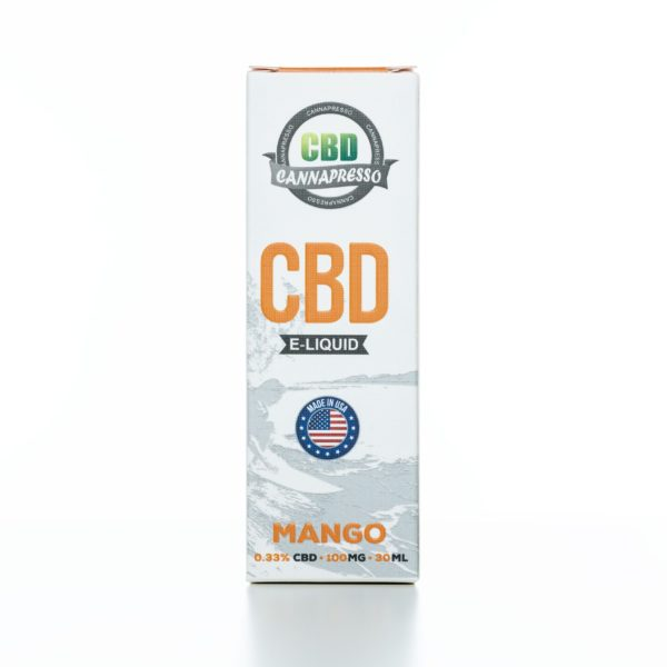 Cannapresso CBD Mango - 100MG - 30ML