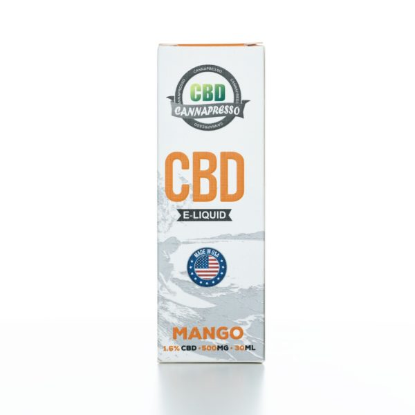 Cannapresso CBD  Mango - 500MG - 30ML