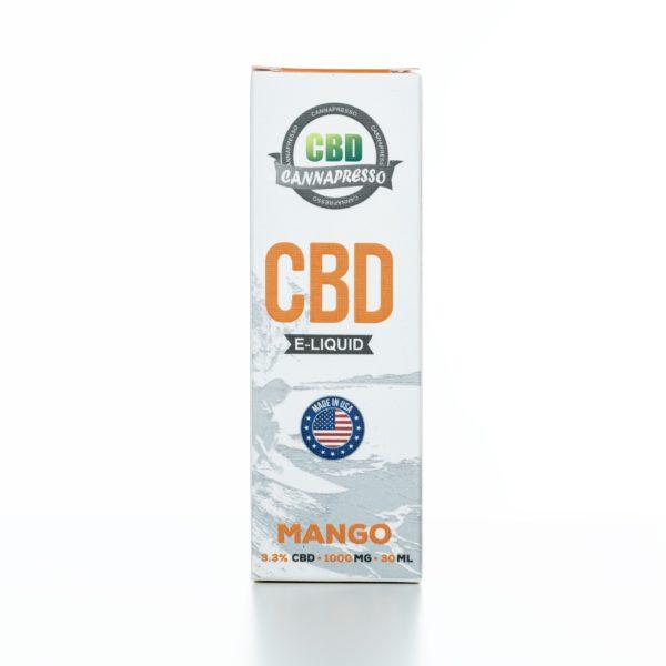 Cannapresso CBD Mango - 1000MG - 30ML