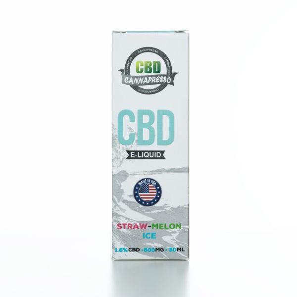 Cannapresso CBD Straw-Melon Ice - 500MG - 30ML