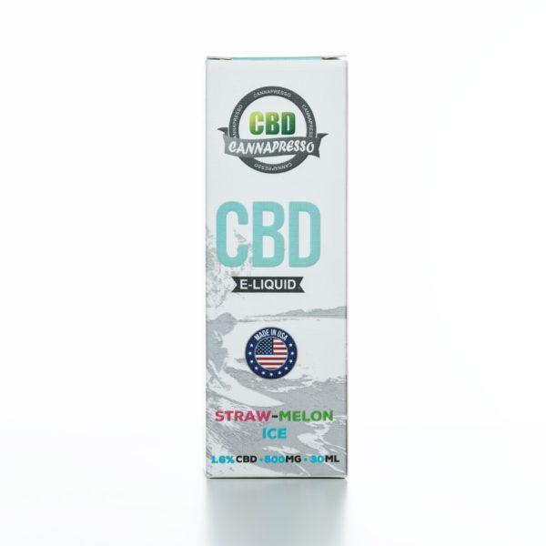 Cannapresso CBD Straw-Melon Ice - 500MG - 30ML