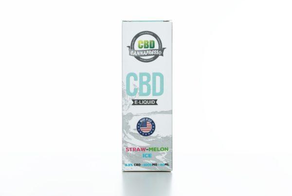 Cannapresso CBD Straw-Melon Ice - 1000MG - 30ML