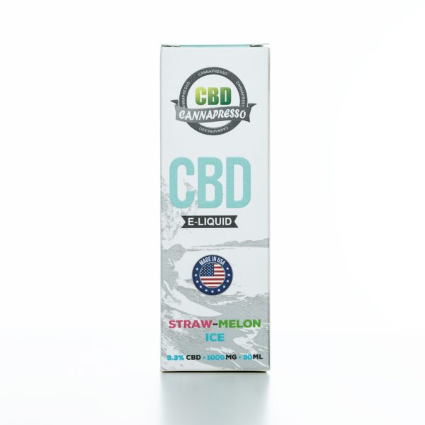 Cannapresso CBD Straw-Melon Ice - 1000MG - 30ML
