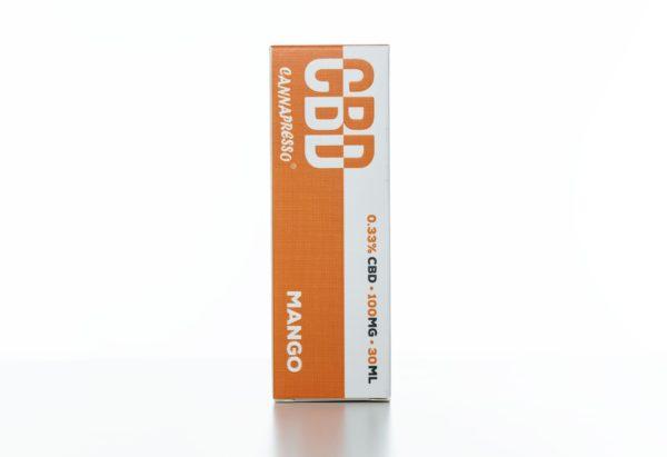 Cannapresso CBD Mango - 100MG - 30ML