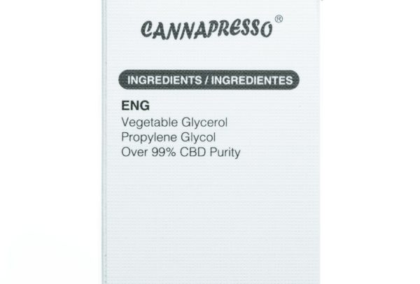 Cannapresso CBD Grape Black Currant - 300MG - 30ML