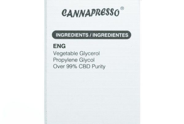 Cannapresso CBD Strawberry - 1000MG - 30ML