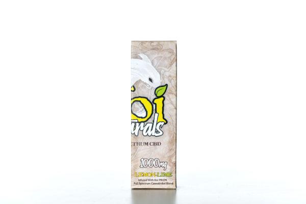 Koi Naturals CBD Lemon Lime - 1000MG - 30ML 1
