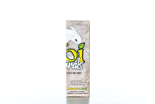 Koi Naturals CBD Lemon Lime - 2000MG - 30ML 1