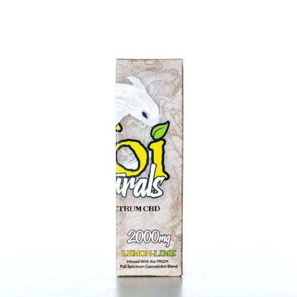 Koi Naturals CBD Lemon Lime - 2000MG - 30ML 5