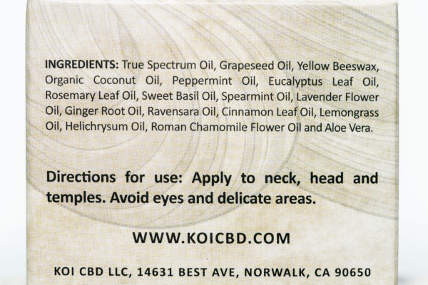 Koi Naturals Healing Balm - 500MG - 1.7OZ 4