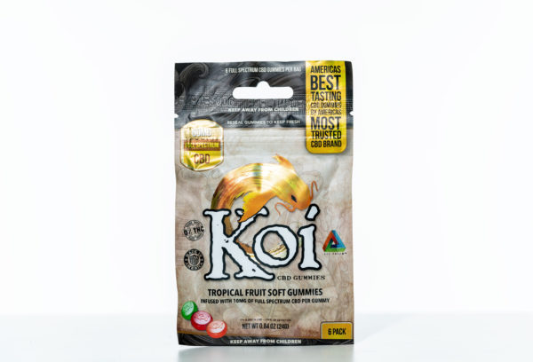 Koi Gummies - Tropical Fruit - 60MG - 6 Pack 1