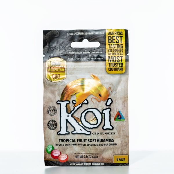 Koi Gummies - Tropical Fruit - 60MG - 6 Pack 9
