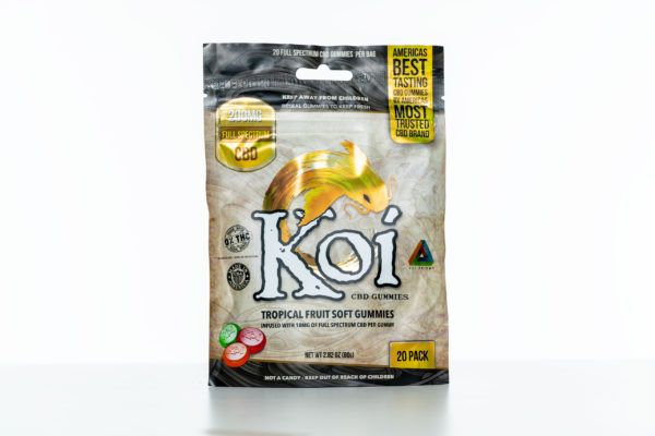Koi Gummies - Tropical Fruit - 200MG - 20 Pack 1