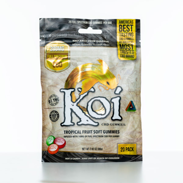 Koi Gummies - Tropical Fruit - 200MG - 20 Pack 8