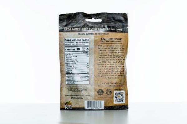 Koi Gummies - Sour Tropical Fruit - 200MG - 20 Pack 3