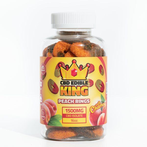 CBD Edible King- Watermelon Rings Chamoy- 1500MG- 16oz 6