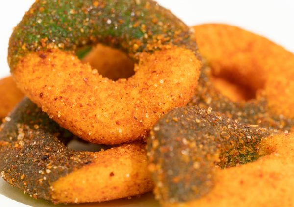 CBD Edible King- Green Apple Rings Chamoy - 1500MG - 16oz 2