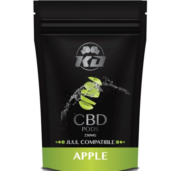 250 mg Juul Compatible APPLE cbd pod