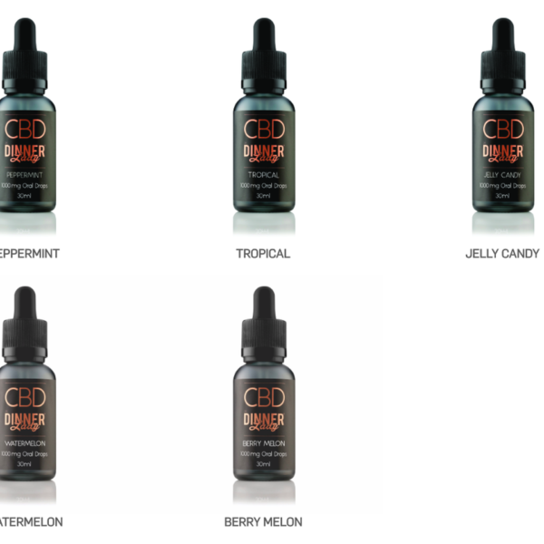 Dinner Lady CBD Oral Drops - Watermelon 250mg 4